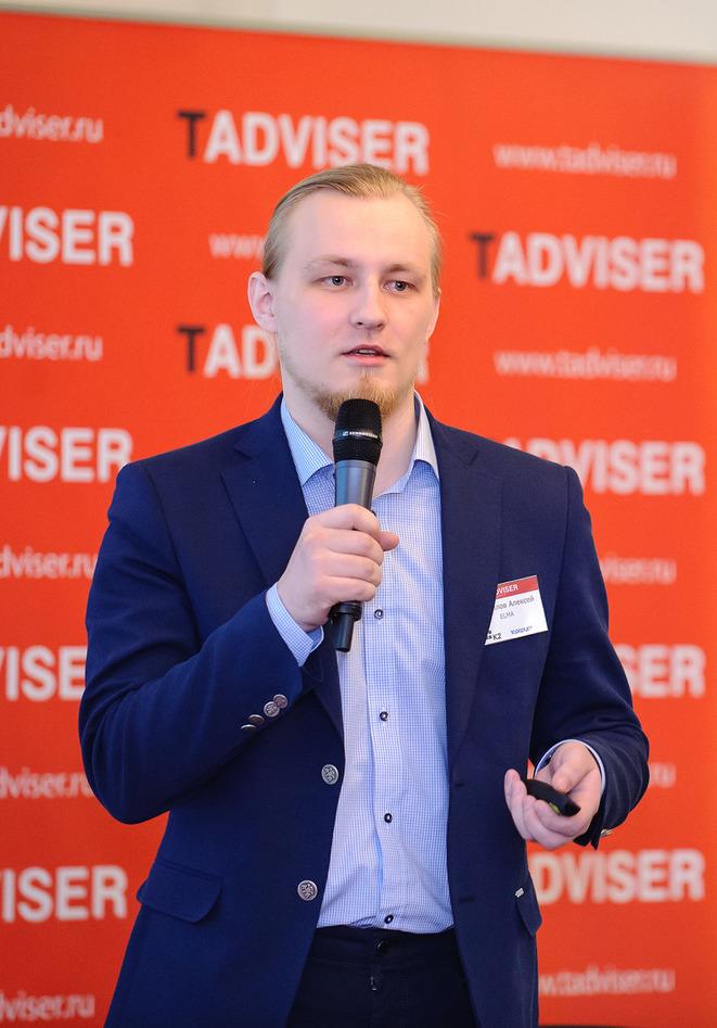 Алексей Трефилов, исполнительный директор ELMA на конференции BPM Day 2016